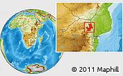 Physical Location Map of PHALABORWA