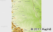 Physical Map of PHALABORWA