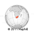 Outline Map of South Africa
