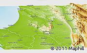 Physical Panoramic Map of PIKETBERG
