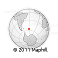 Outline Map of South Georgia and the South Sandwich Islands