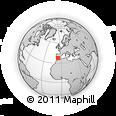 Outline Map of Sevilla
