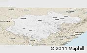 Classic Style Panoramic Map of Teruel