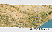 Satellite Panoramic Map of Teruel