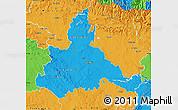 Political Map of Zaragoza