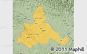 Savanna Style Map of Zaragoza