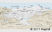 Classic Style 3D Map of Cantabria