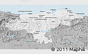 Gray 3D Map of Cantabria