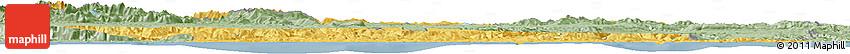 Savanna Style Horizon Map of Cantabria