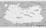 Gray 3D Map of Ciudad Real