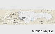 Classic Style Panoramic Map of Guadalajara