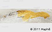 Physical Panoramic Map of Guadalajara, lighten, semi-desaturated