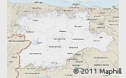 Classic Style 3D Map of Castilla y León