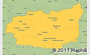 Savanna Style Simple Map of León