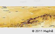 Physical Panoramic Map of Segovia