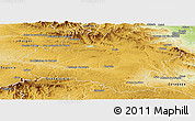 Physical Panoramic Map of Soria