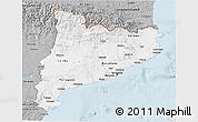 Gray 3D Map of Cataluna