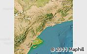 Satellite Map of Tarragona
