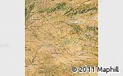 Satellite Map of Extremadura