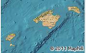 Satellite Map of Islas Baleares