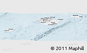 Classic Style Panoramic Map of Islas Baleares