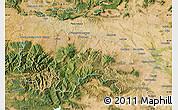 Satellite Map of La Rioja
