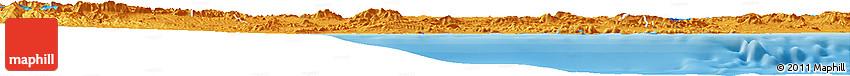 Political Horizon Map of Murcia