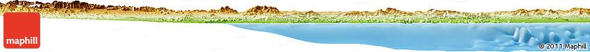 Physical Horizon Map of Murcia