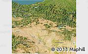 Satellite 3D Map of Navarra