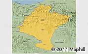 Savanna Style 3D Map of Navarra