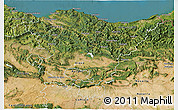 Satellite 3D Map of País Vasco