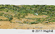 Satellite Panoramic Map of Alava