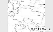 Blank Simple Map of Alava