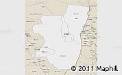 Classic Style 3D Map of Kassala