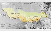 Physical Map of Equatoria, desaturated