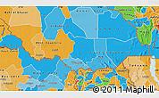Political Map of Equatoria