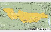 Savanna Style Map of Equatoria