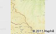 Physical Map of Tambura