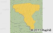 Savanna Style Map of Tambura