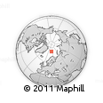 Outline Map of Svalbard
