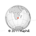 Outline Map of Swaziland