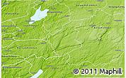 Physical 3D Map of Bollebygd Kommun