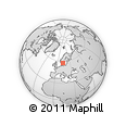 Outline Map of Boras Kommun