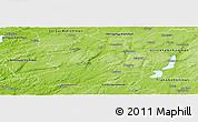 Physical Panoramic Map of Boras Kommun