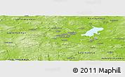 Physical Panoramic Map of Borlänge Kommun