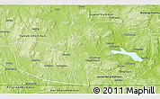 Physical 3D Map of Ludvika Kommun
