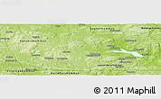 Physical Panoramic Map of Ludvika Kommun
