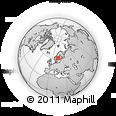 Outline Map of Gávleborgs Län