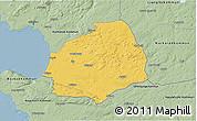 Savanna Style 3D Map of Laholm Kommun