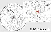 Blank Location Map of Laholm Kommun